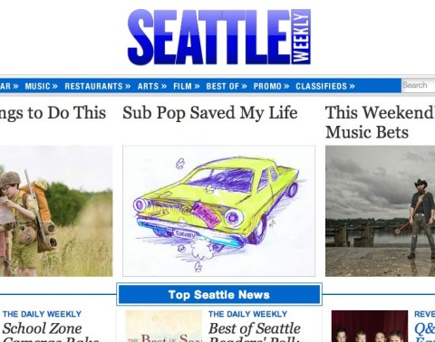 Seattle Weekly homepage